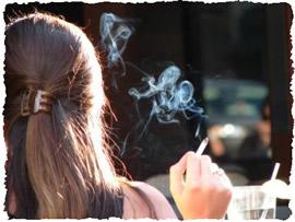 влияние курения на волосы 2