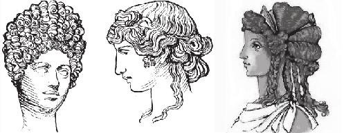 прически древнего Рима