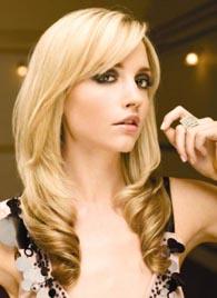 модный цвет волос - блонд