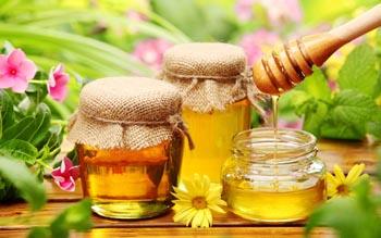 белковая маска для волос с медом