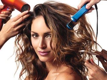 фен вредит волосам