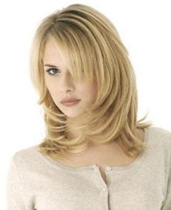 как уложить волосы средней длины