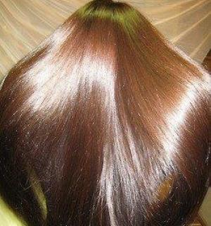 желатиновая маска для ламинирования волос