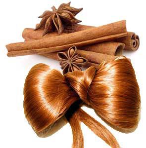 применение корицы для волос