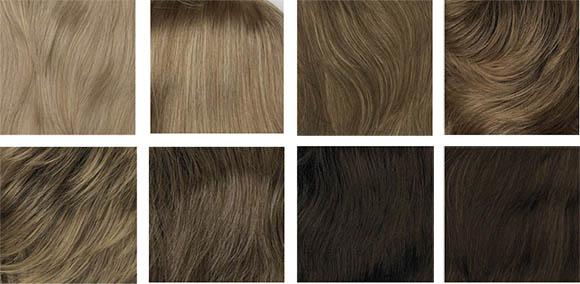 цвет волос для летнего цветотипа