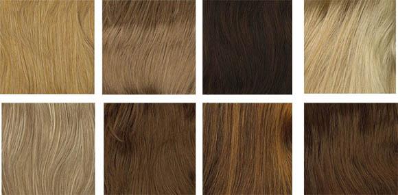 цвет волос для весеннего цветотипа
