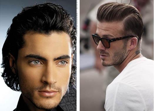 Мужские причёски строгие