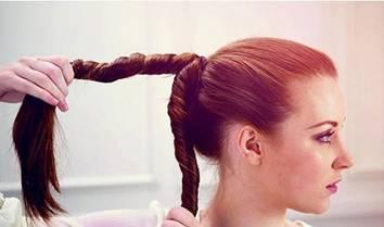 прическа крученая коса - 2