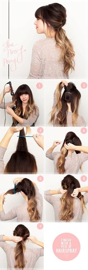 причёски с инструкцией в картинках