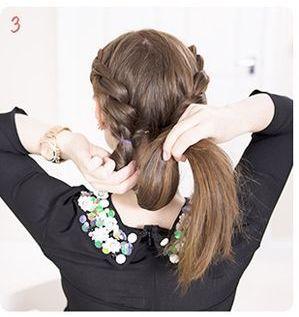 прическа венок из косы - 3