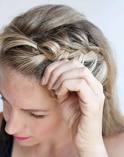 жгутики на длинные волосы - 2