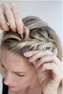 жгутики на длинные волосы - 3