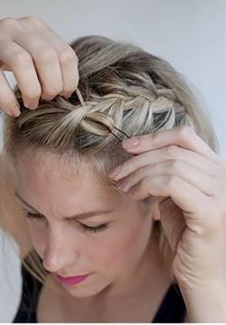 жгутики на длинные волосы - 4