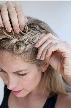 жгутики на длинные волосы - 5