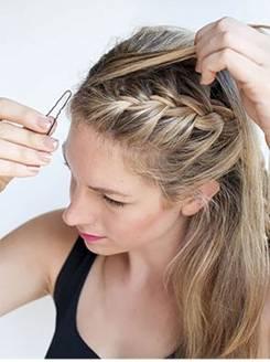 жгутики на длинные волосы