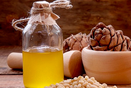 кедровое масло для укрепления волос