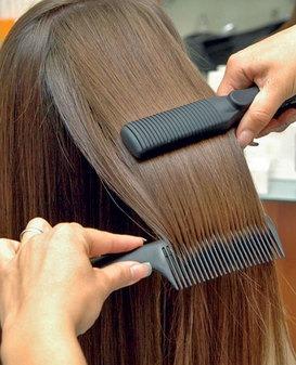 каутеризация волос в салоне