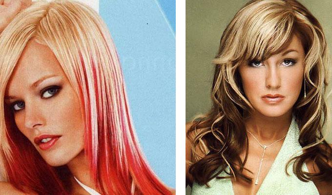 Волосы снизу темные сверху светлые фото