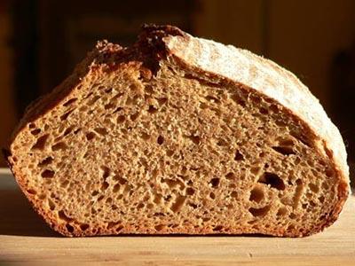 ржаной хлеб от перхоти