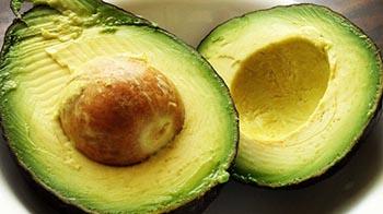 авокадо для блеска волос