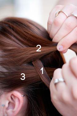 как заплести французскую косу 4