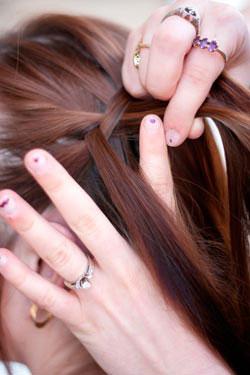 как заплести французскую косу 6