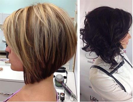 Причёски каре на удлинение фото