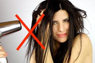 мытье нарощенных волос