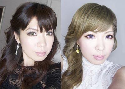 Окрашивание волос тоникой до и после фото