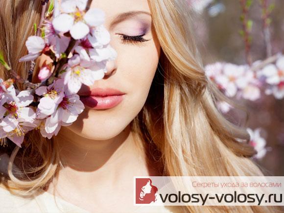 Уход за волосами весной, весенние процедуры для волос