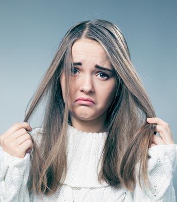 восстановление ломких волос