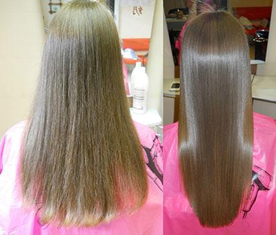 кератирование волос дома