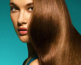 применение термозащиты для волос