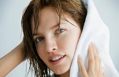 сушить волосы естественным путем