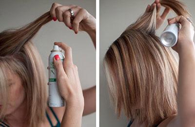 как пользоваться сухим шампунем