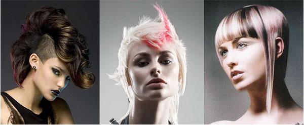 виды женских стрижек креативные варианты