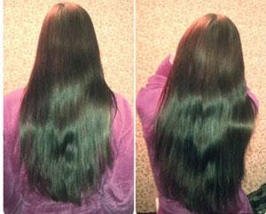 ополаскивание волос уксусом эффект