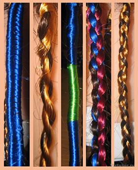 плетение африканских косичек