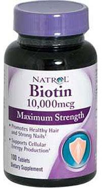 биотин для роста волос