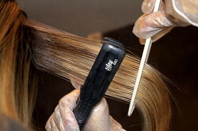 этапы бразильского выпрямление волос