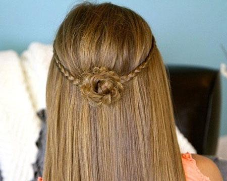 интересные косички на длинные волосы