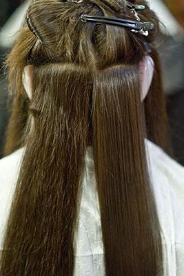 как делается химическое выпрямление волос
