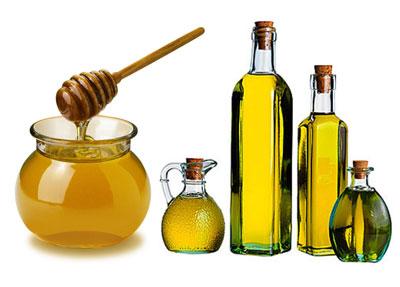 маска с пиридоксином и медом для волос