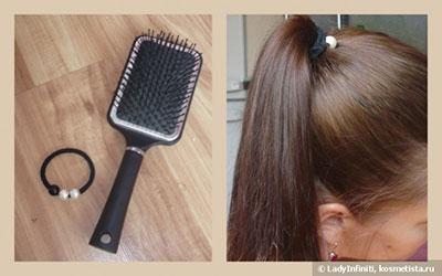 расчесывание тонких волос
