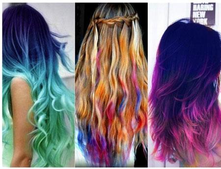 как красить волосы тушью