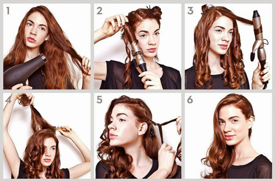 прическа на каждый день длинные волосы