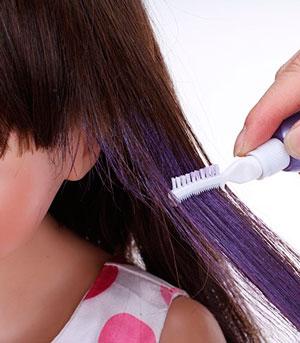 как использовать тушь для волос