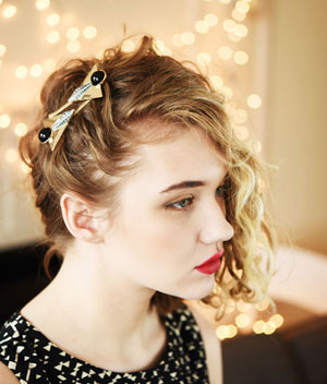 укладки для волнистых волос