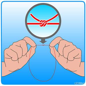 как выщипывать брови ниткой 1