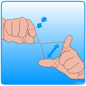 как выщипывать брови ниткой 4